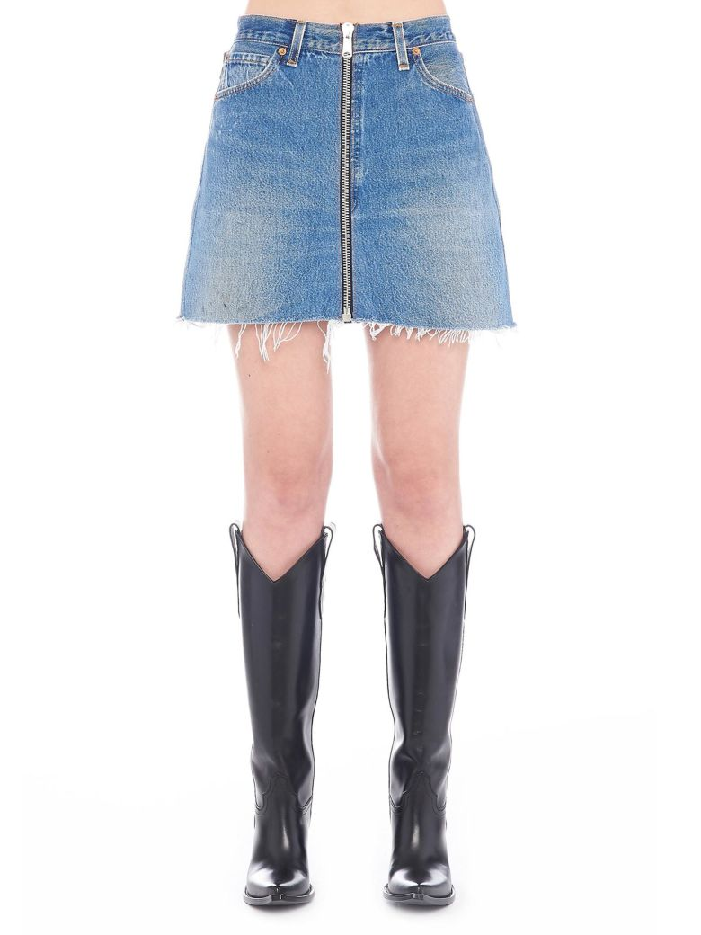 RE/DONE Skirt - Light blue