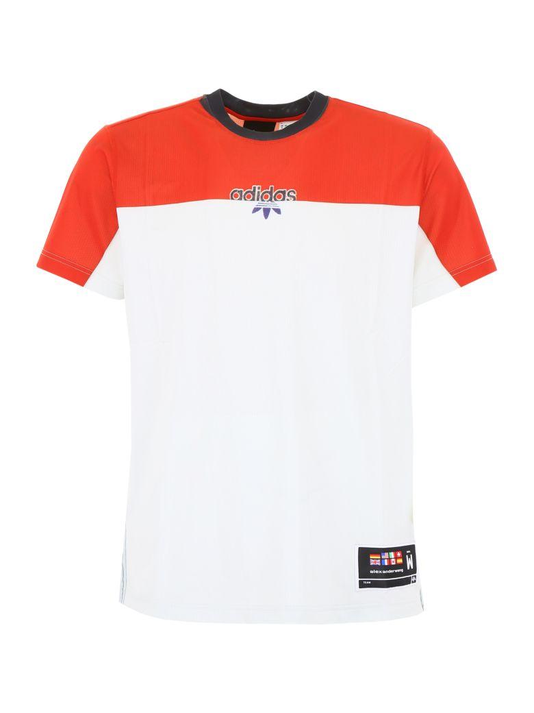 Adidas Originals by Alexander Wang Unisex T-shirt - ST BRICK CLEAR GREY|Rosso