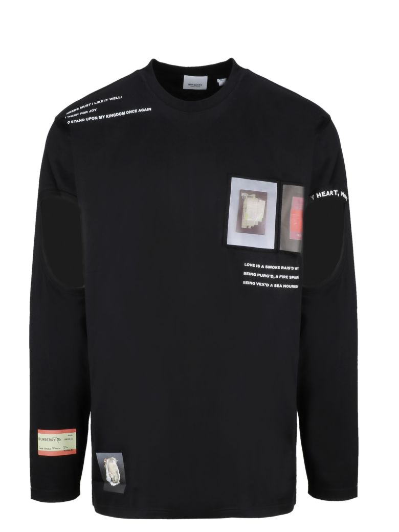Burberry Montage Long-sleeve T-shirt - Basic