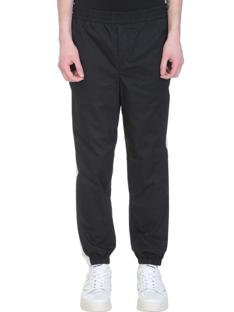 Ami Alexandre Mattiussi Black Cotton Trousers - black