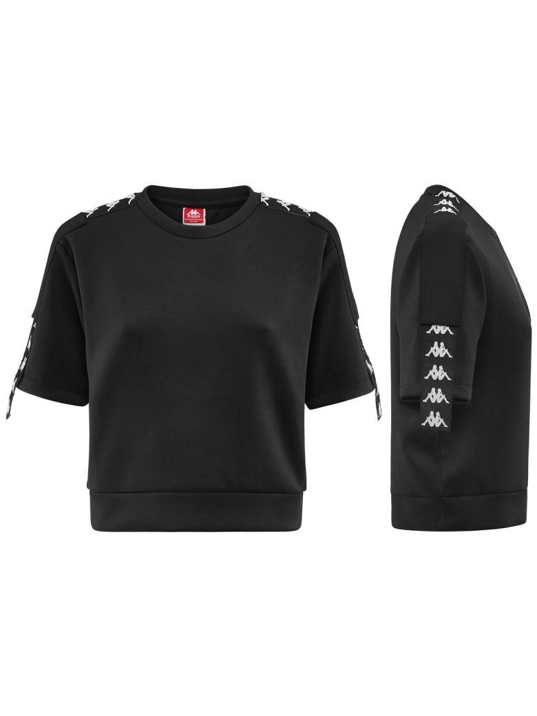 Kappa Short Sleeve T-Shirt - Black/white