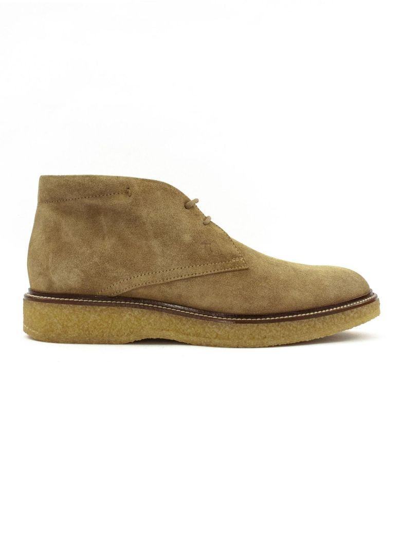 Tod's Desert Boots In Beige Suede. - Sabbia