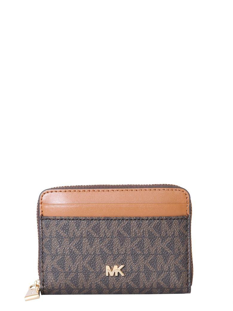 MICHAEL Michael Kors Wallet With Logo - MARRONE