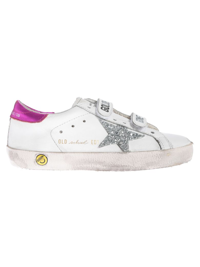 Golden Goose Kids Superstar Glittery Star Sneakers