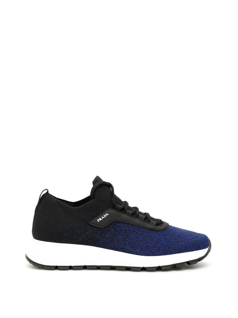 Prada Prax 01 Sneakers - NERO INDACO (Black)