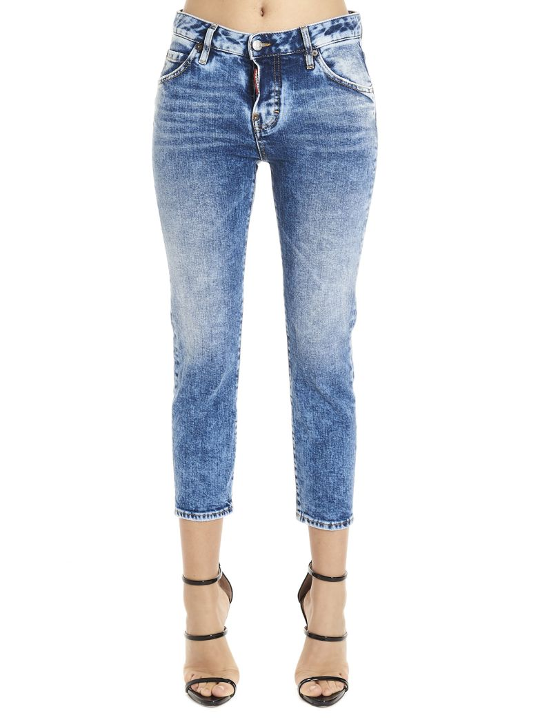 Dsquared2 'cool Girl' Jeans - Blue