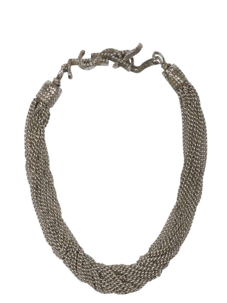 Saint Laurent Chain Logo Bracelet - Basic