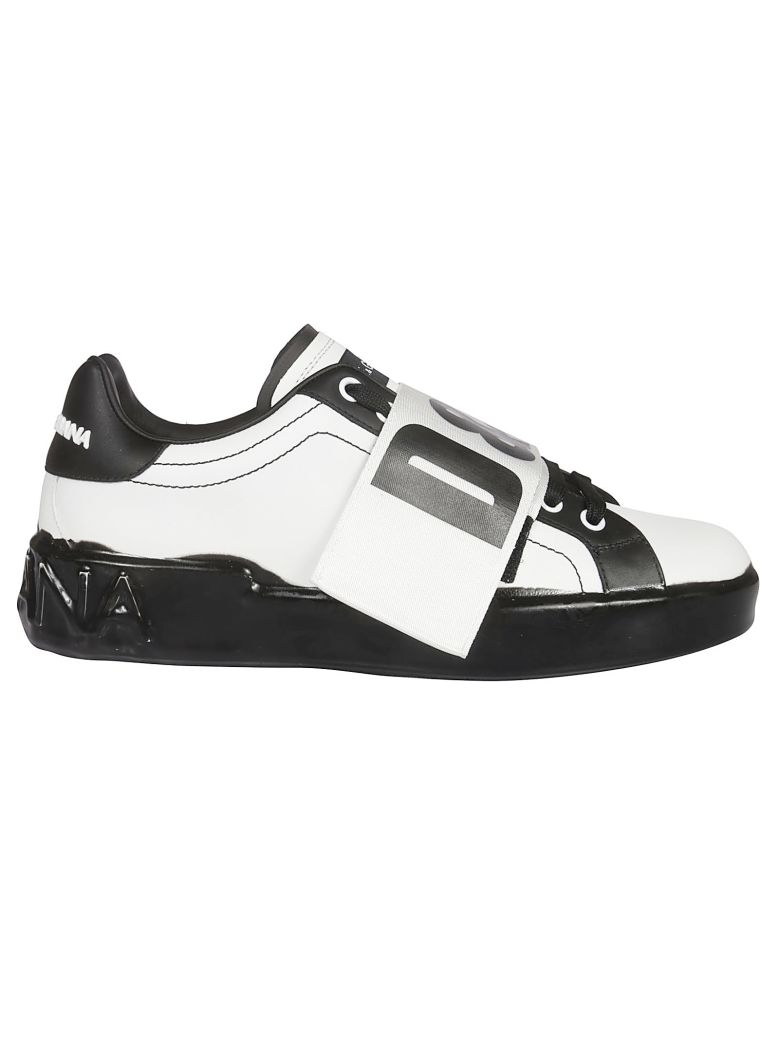 Dolce & Gabbana Logo Sneakers - White