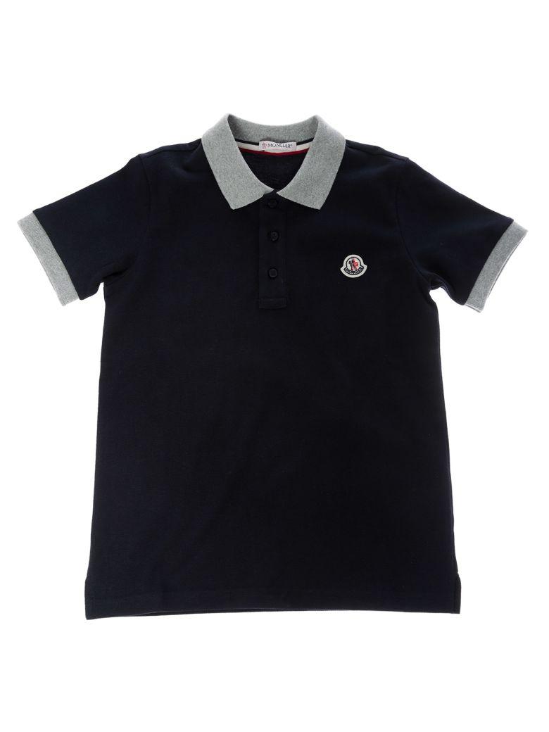 Moncler Kids Logo Polo Shirt