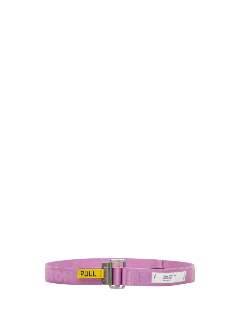 HERON PRESTON Pull Logo Belt - Rosa