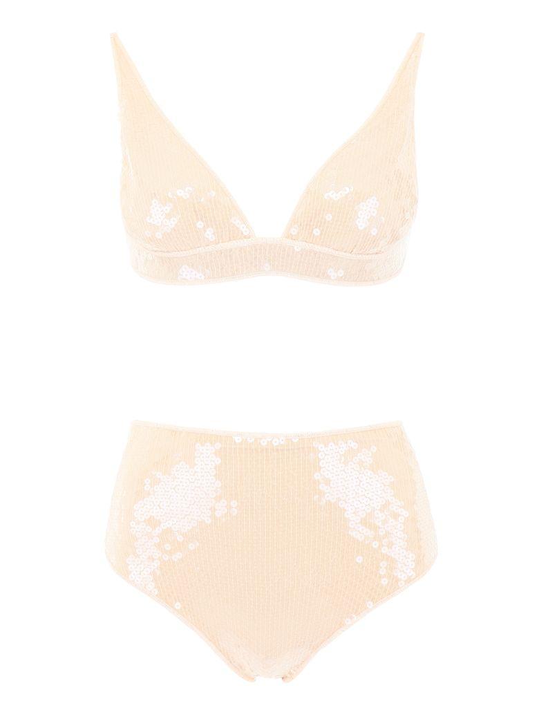 Oseree Sequin Marylin Bikini - NUDE (Beige)