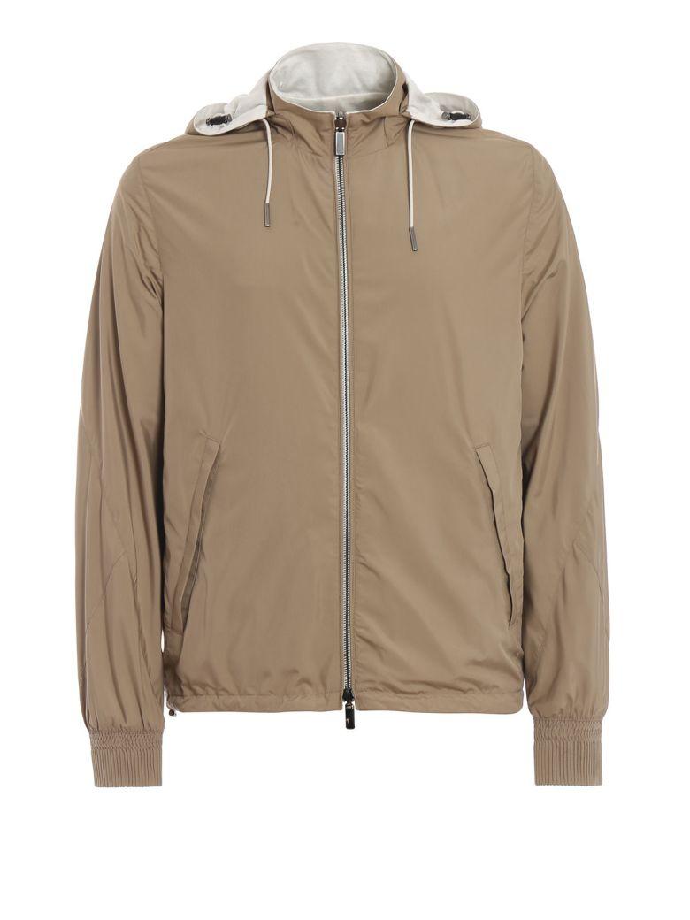 Ermenegildo Zegna Hooded Zipped Jacket - Basic
