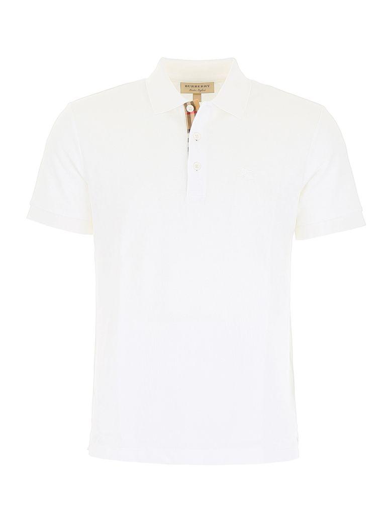 Burberry Hartford Polo Shirt - WHITE (White)