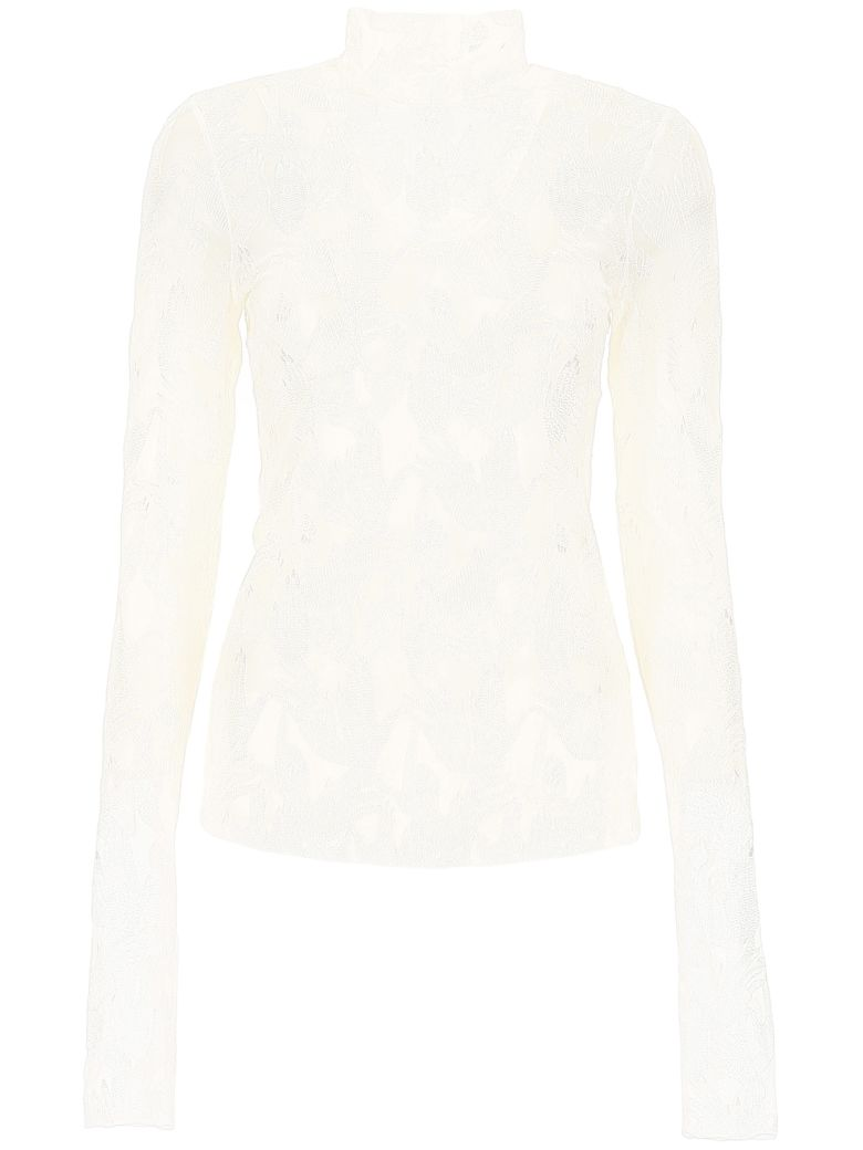 Vivetta All-over Hands Top - WHITE|Bianco