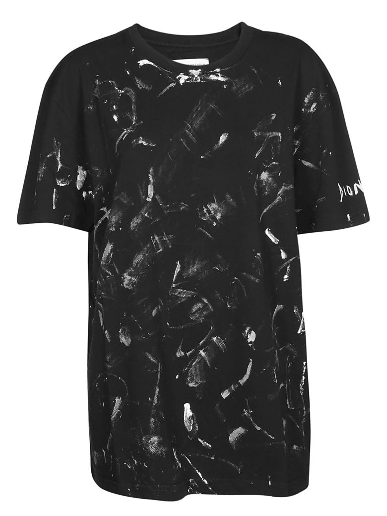 Faith Connexion Abstract Print T-shirt - Black