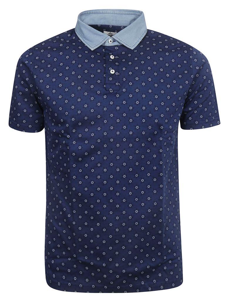Luigi Borrelli Circle Motif Print Polo Shirt - Basic