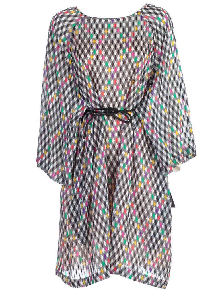 Emporio Armani Tie-waist Dress - Multicolor