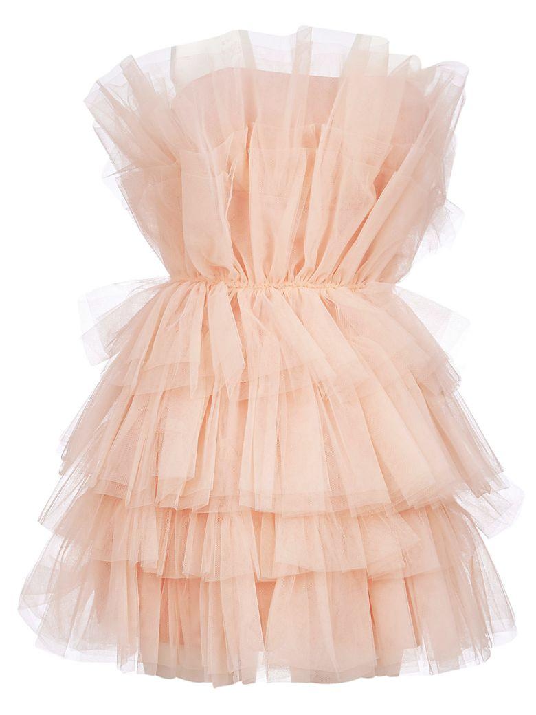 aniye by Lace Pleated Dress - Rosa