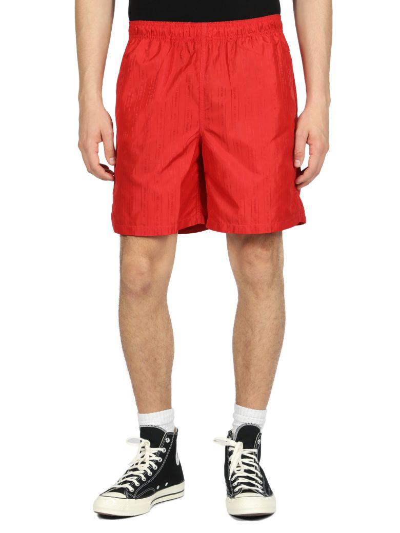 Stussy Jacquard Nylon Short - Rosso
