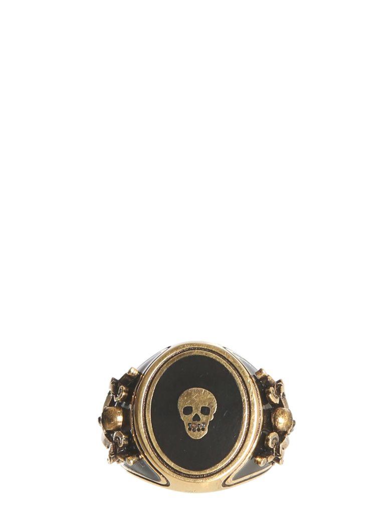 Alexander McQueen Skull Ring - ORO