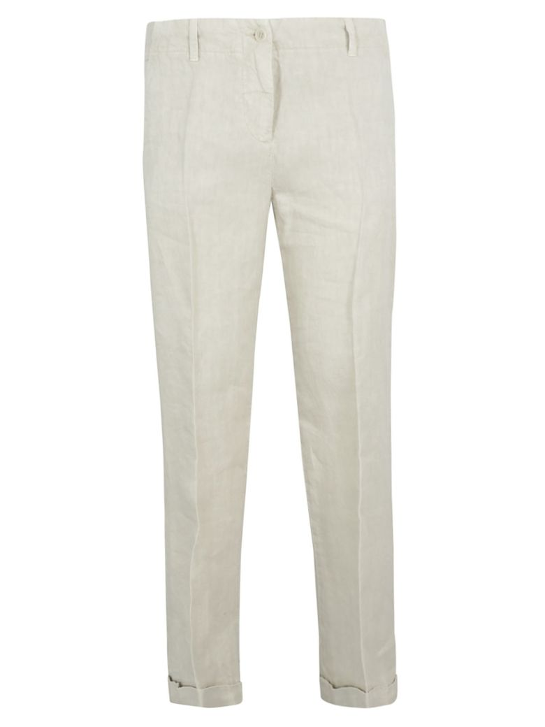 Aspesi Cropped Trousers - Gray