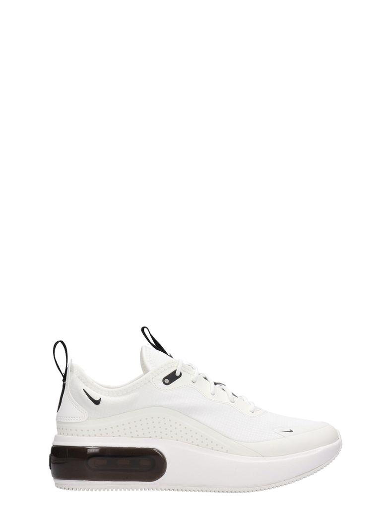 Nike Air Max Dia Sneakers White Leather - white