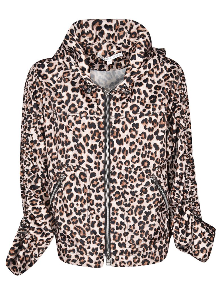 Veronica Beard Leopard Print Jacket - Brown