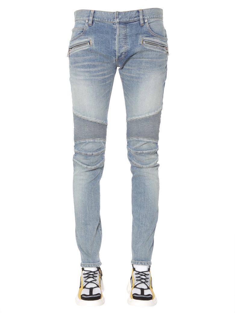 Balmain Biker Jeans - BLU