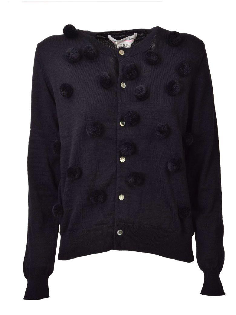 Comme Des Garçons Girl Buttoned Cardigan - Navy