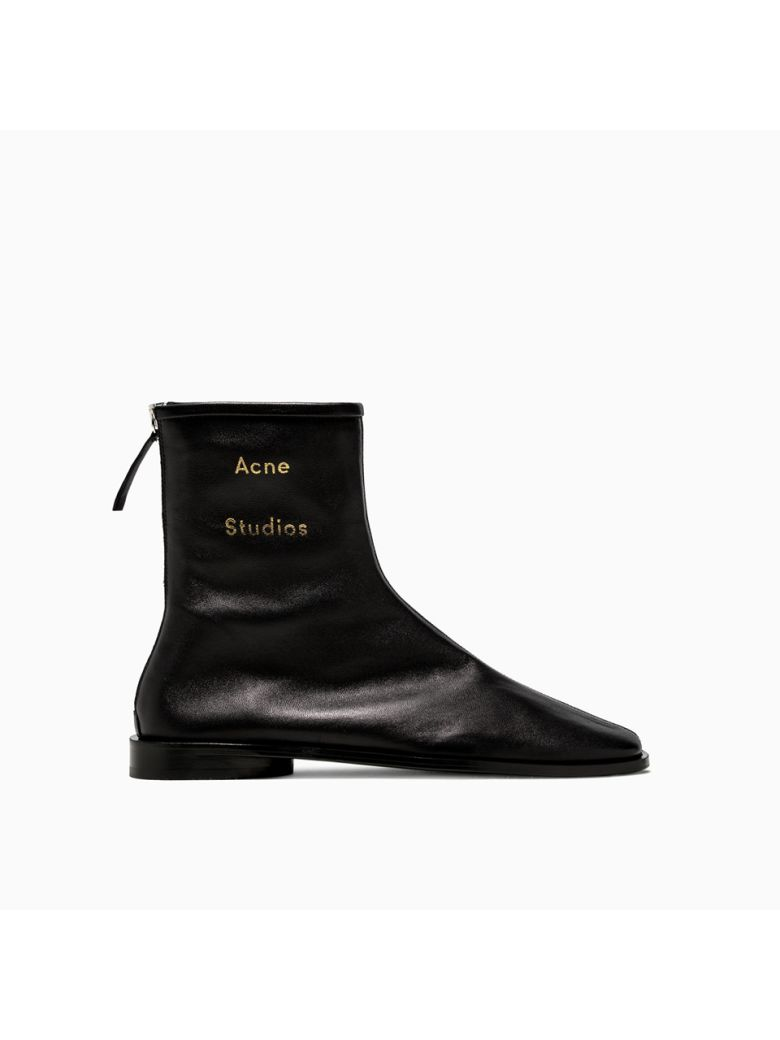 Acne Studios Fn-wn Ankle Boots Ad0098-ax0 - BLACK