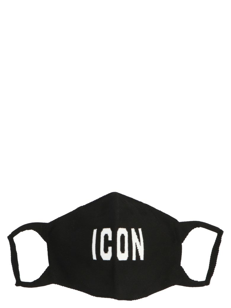Dsquared2 'icon' Face Mask - Black