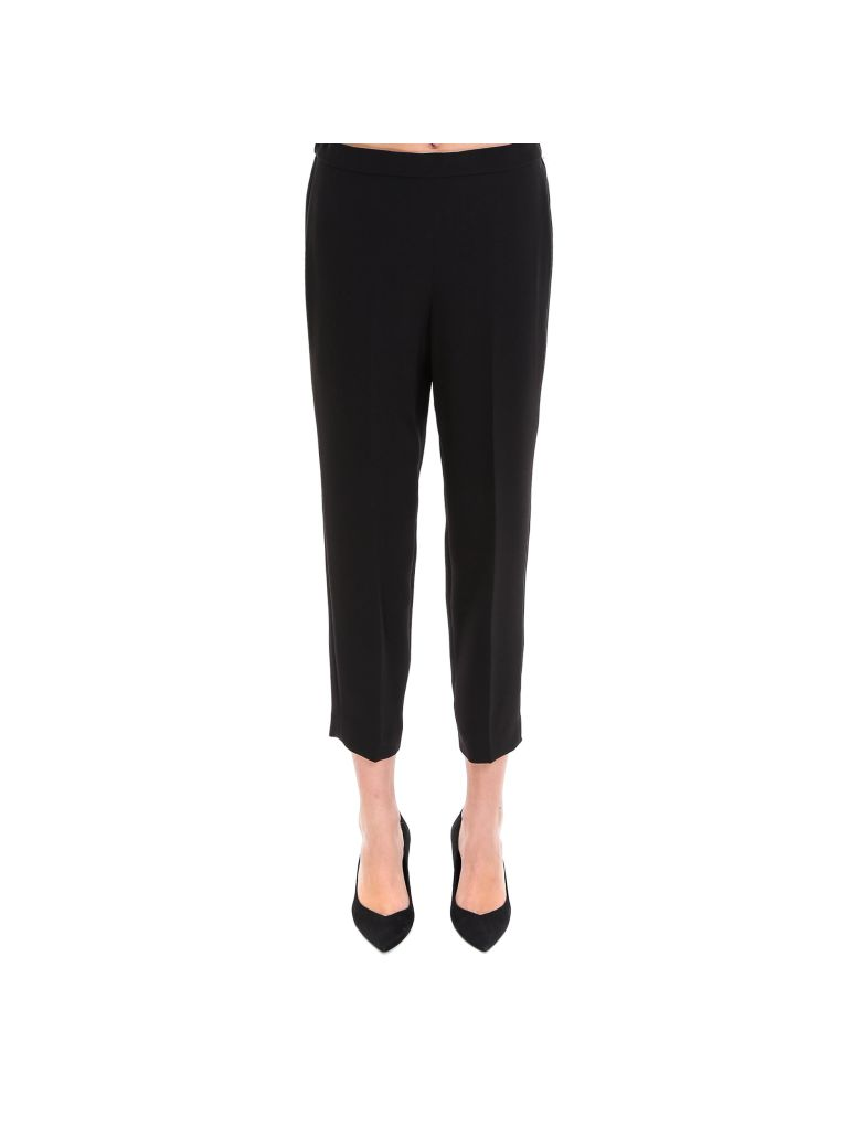 Theory Basic Pull On Pant Trousers - Black