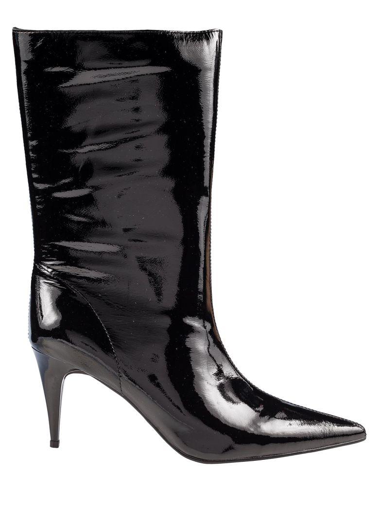 Jeffrey Campbell Pixies Mid Shaft Boots - Black