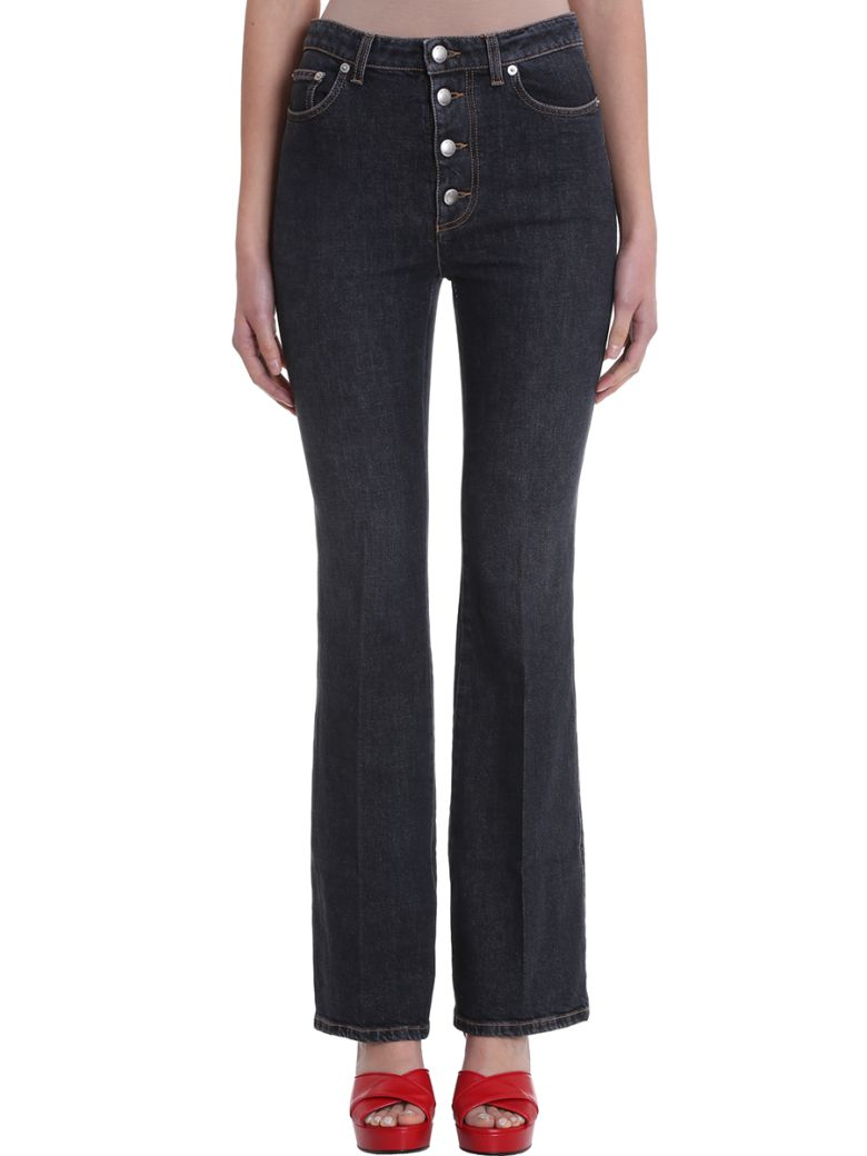 Sonia Rykiel High Waist Denim Jeans - black