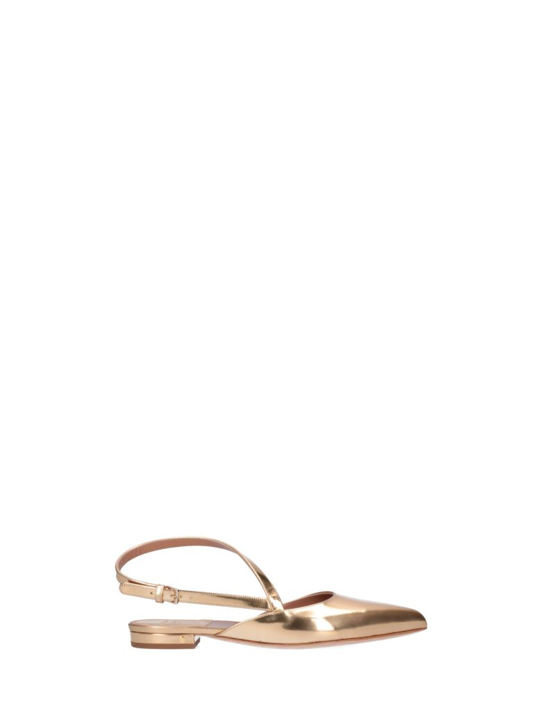 Laurence Dacade Anael Shoes - Gold
