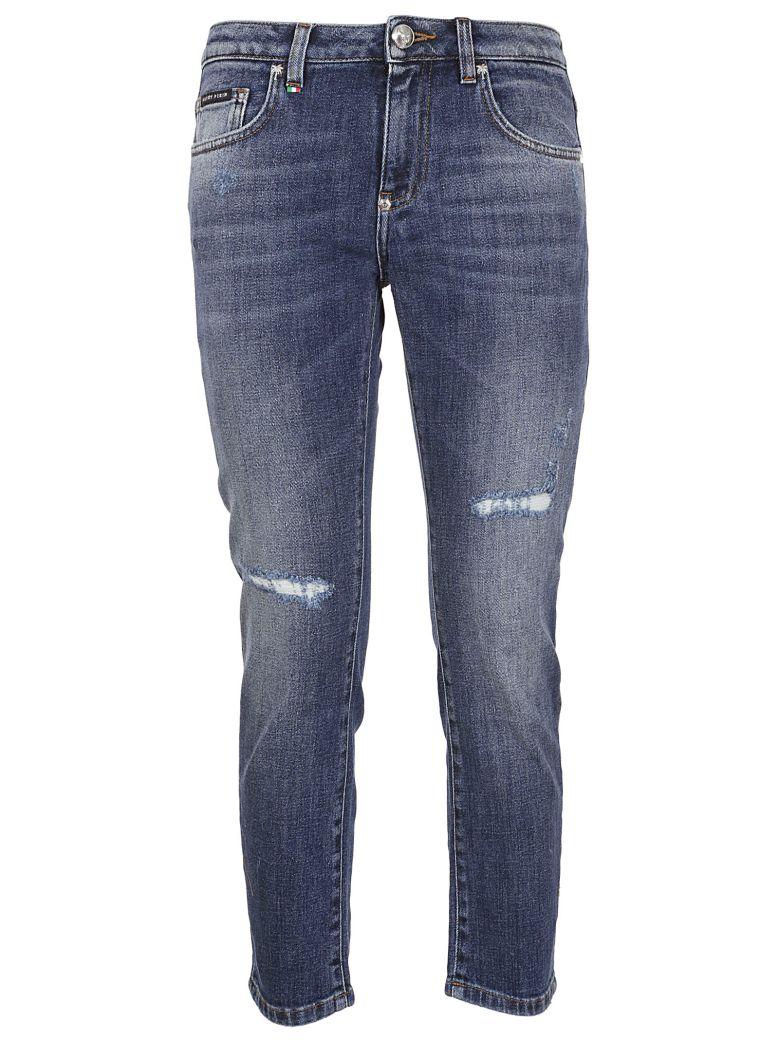 Philipp Plein Slim Boyfriend Jeans - Basic