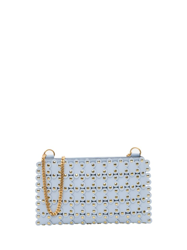 RED Valentino Flower Puzzle Crossbody Bag - Azzurro