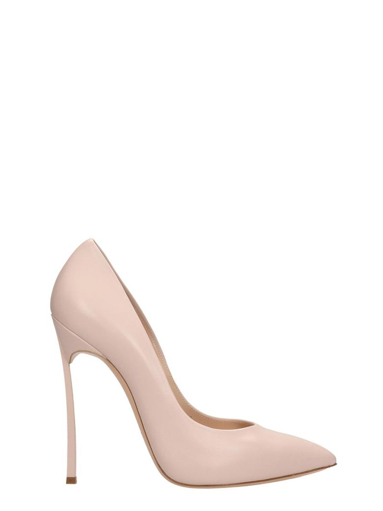 Casadei Pink Leather Pumps - Basic