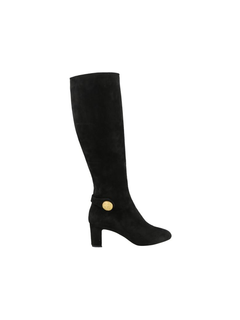 Dolce & Gabbana Suede Boots - Black