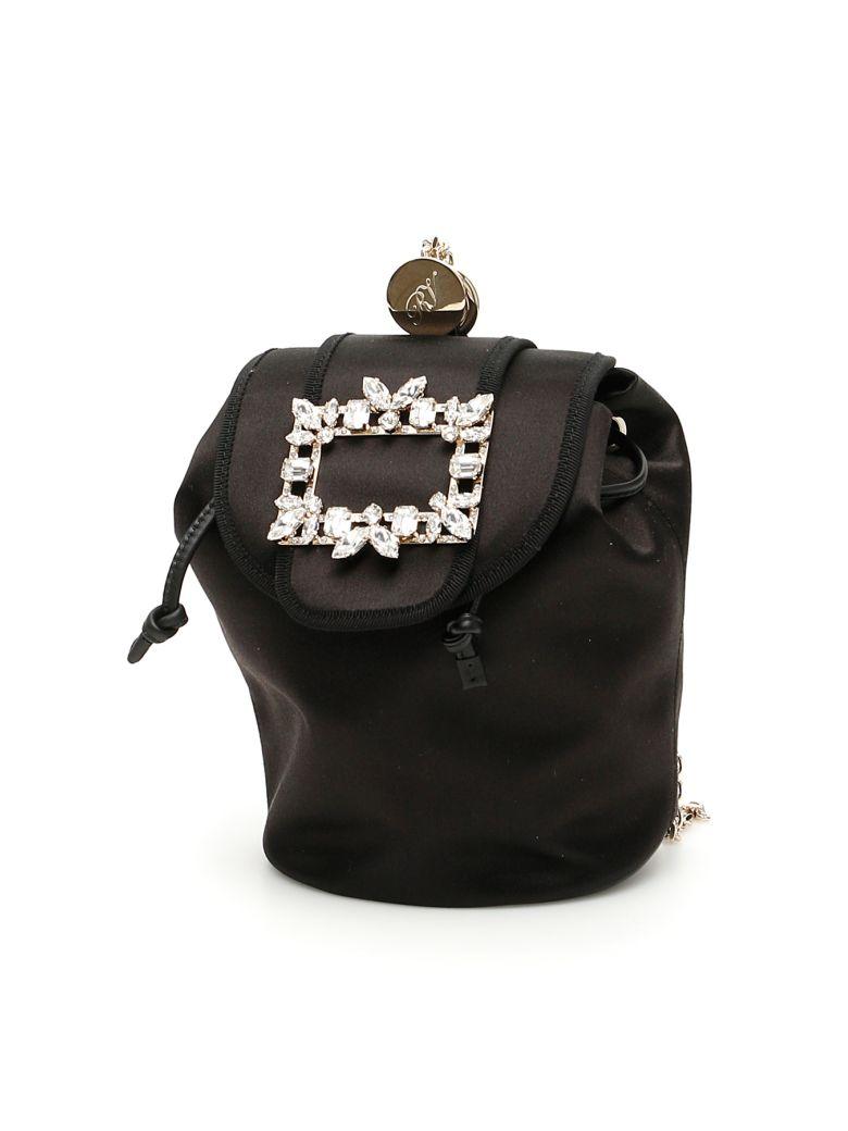 Roger Vivier Rv Broche Mini Backpack - NERO (Black)