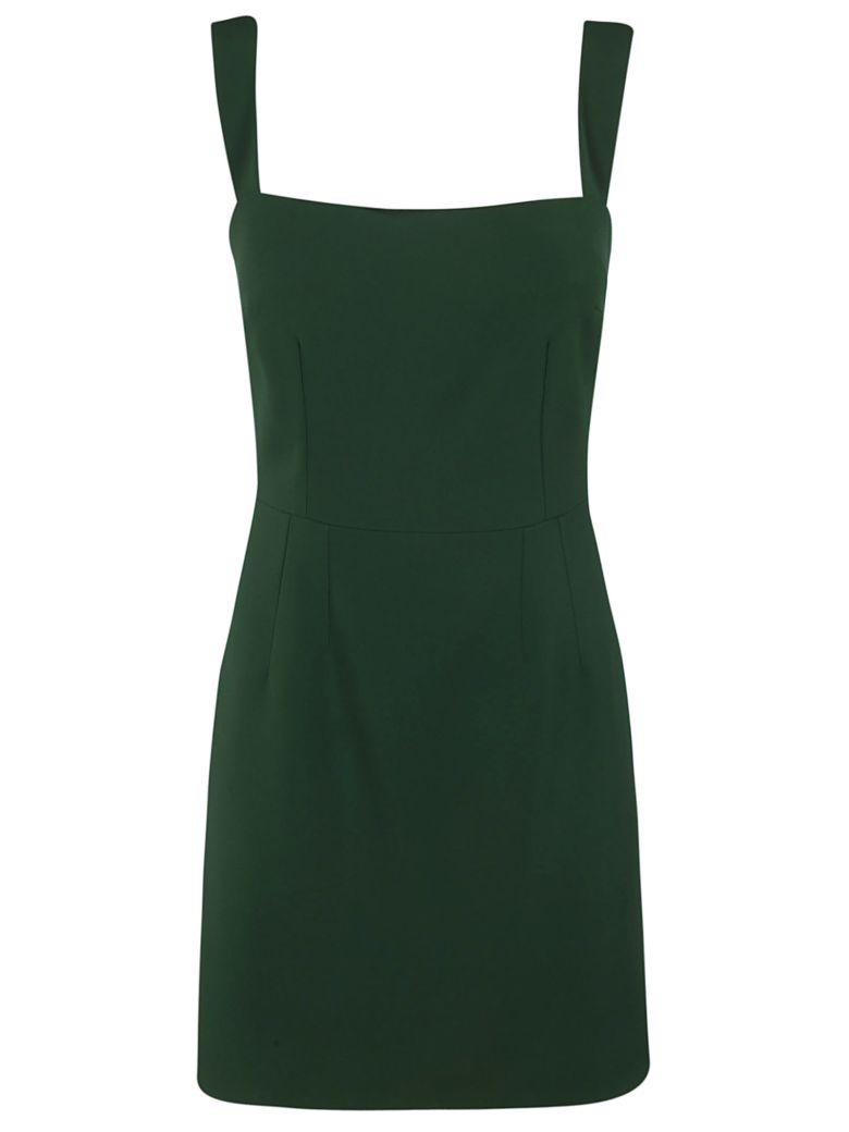 Dolce & Gabbana Square Neck Dress - green