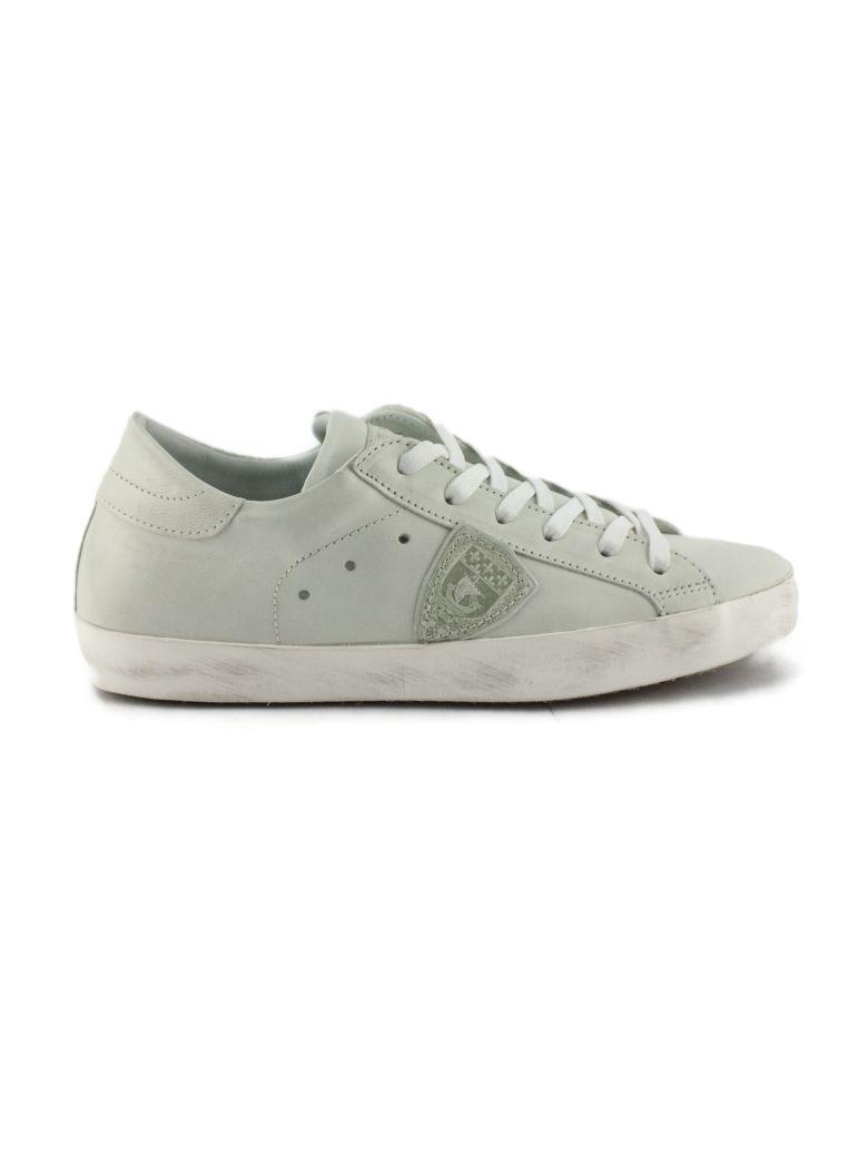 Philippe Model White Leather Paris Sneaker - White