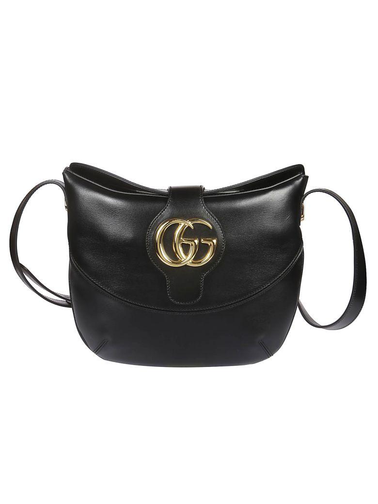 Gucci Arli Medium Shoulder Bag - Black