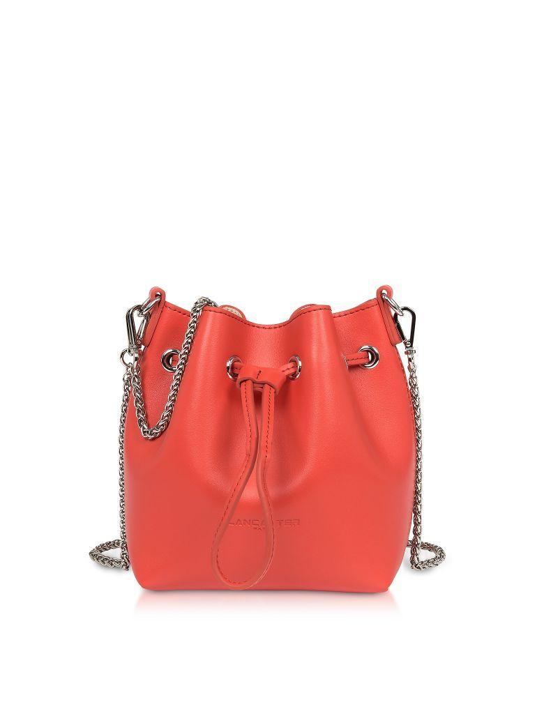 Lancaster Paris Treasure And Annae Leather Mini Bucket Bag - watermelon
