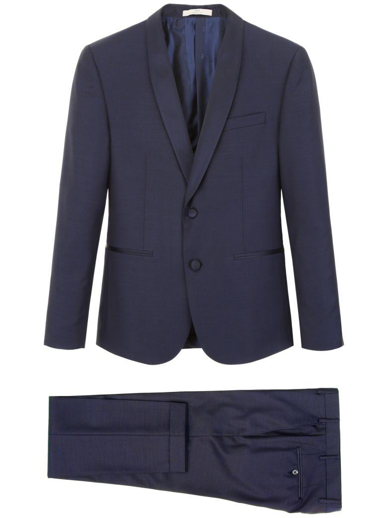 CC Collection Corneliani Formal Suit - NAVY Blu