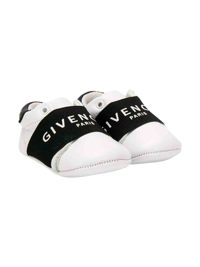 Givenchy White Newborn Shoes - Bianco