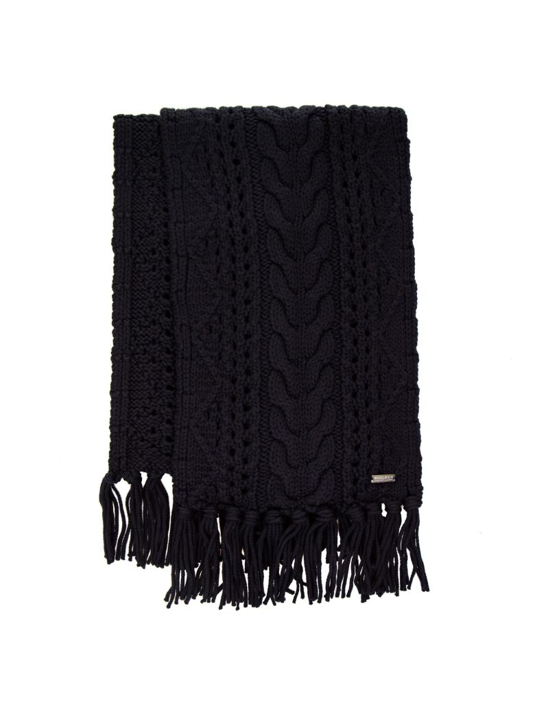 Woolrich Woolrich Wool Scarf - BLUE