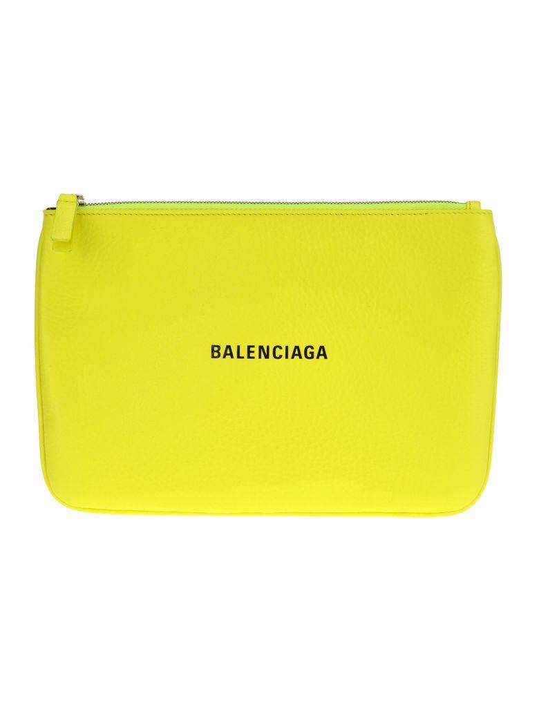 Balenciaga Balenciaga Everyday Pouch M - NEON YELLOW