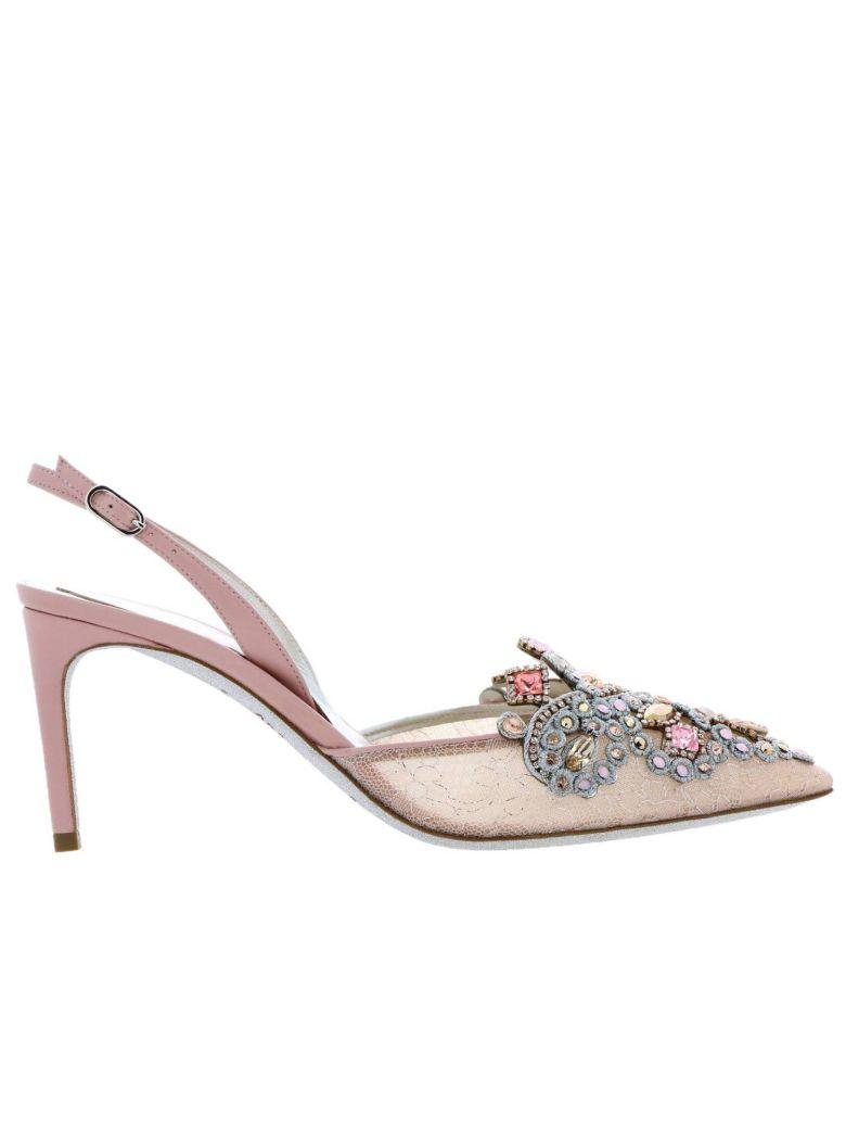 René Caovilla Rene Caovilla Pumps Shoes Women Rene Caovilla - Pink