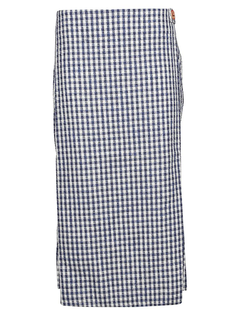 Simon Miller Plaid Pattern Skirt - Country Plaid